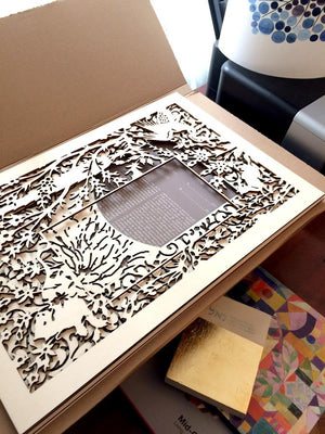 On the boards - wood and papercut new designs