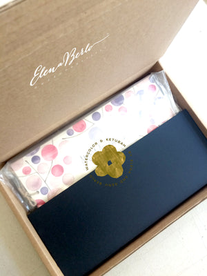 Painted Wedding Album Packaging