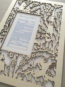 Art Nouveau Jugendstil Stile Liberty Modernismo catalán Ketubah