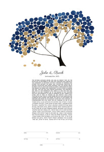 MODERN KETUBAH SAFARI TREE OF LIFE - Reviewed by Julie Colantuoni