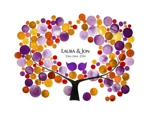 WEDDING GUEST BOOK MUME APRICOT TREE - Reviewed by Laura Czajkowski