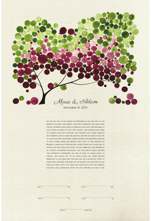 KETUBAH PRINT JAPANESE BIGLEAF MAGNOLIA - Reviewed by Mara Laderman