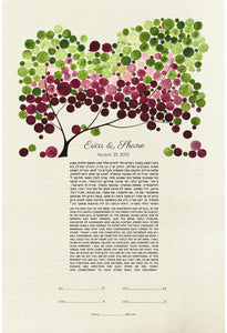 KETUBAH ART PRINT JAPANESE BIGLEAF MAGNOLIA - Reviewed by Shane Fierman