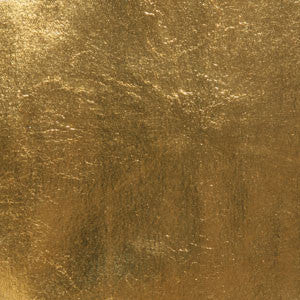 23 karat real gold leaf accents