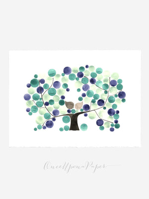 Wedding Guest Book ALDERMAN APPLE TREE