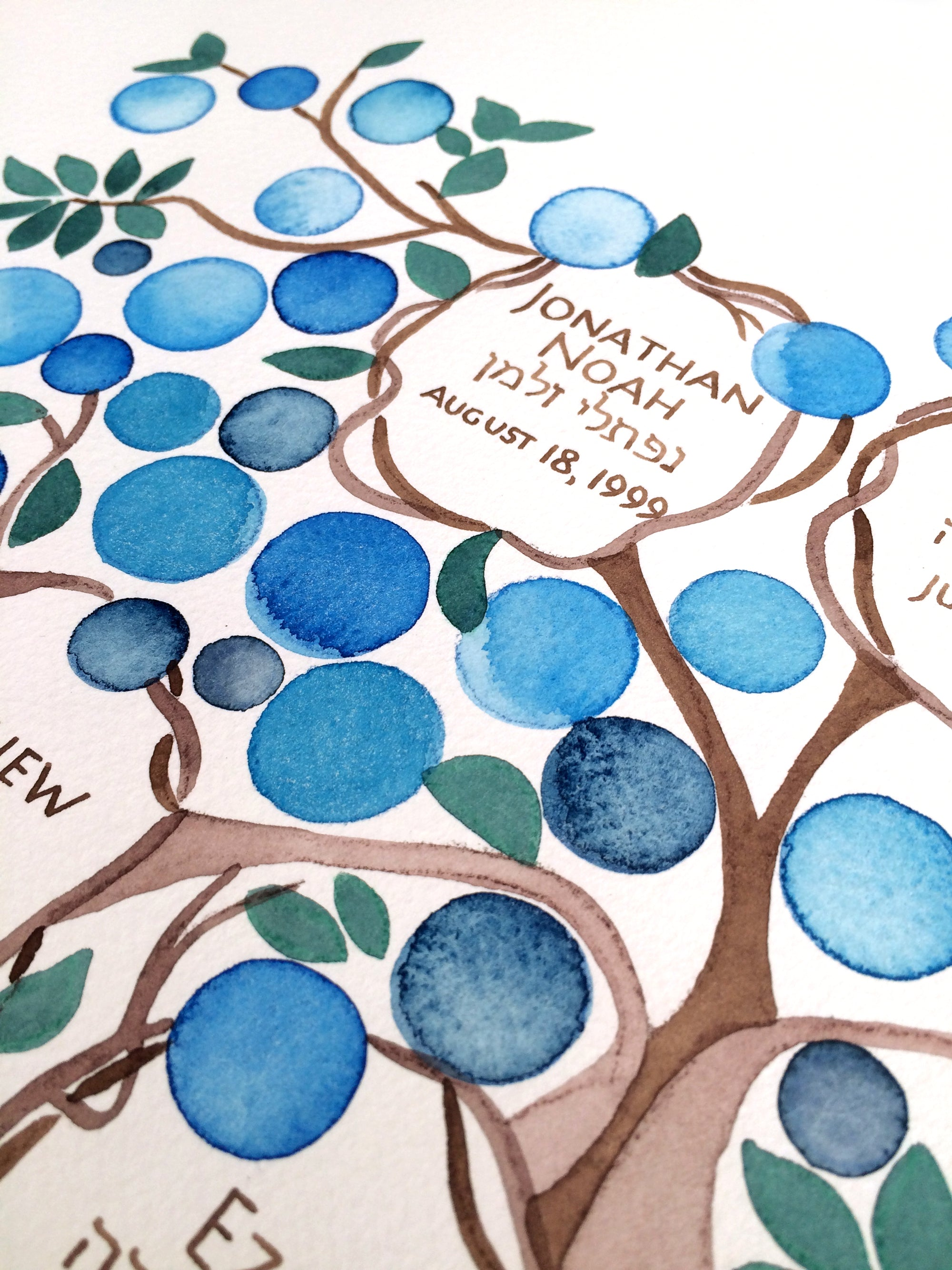 Custom made Personalized Ancestry FAMILY TREE