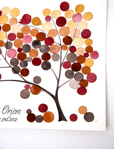 Wedding Guest Book YULAN MAGNOLIA TREE