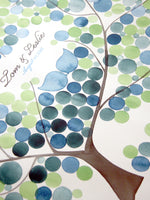 Load image into Gallery viewer, Modern Guest Book Alternative Print - FRESH PECAN TREE