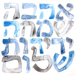 Load image into Gallery viewer, Jewish BLESSING sign Love, Peace, Joy & Friendship