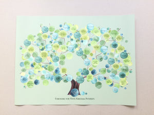 Family Ancestry TREE art print