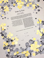 Load image into Gallery viewer, Omaha-Nebraska giclee print < mid-modern Ketubah Guestbook