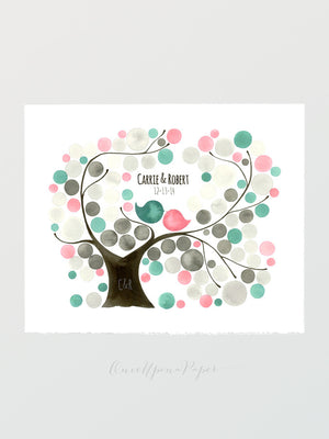 Wedding Guestbook Tree - Oval Garden Tree gift