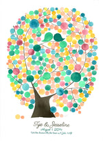 Load image into Gallery viewer, Wedding Guest Book Oval Tree of Life