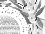 Load image into Gallery viewer, Bamboo Leaf Japanese Ink Painting Ketubah > Sumi-e Wreath Ketubah