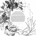 Load image into Gallery viewer, Botanical sumi-e Ketubah Black and White