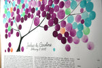 Load image into Gallery viewer, Custom Ketubah painting - THE PAINTED TREE - Ketubah Calligraphy and watercolor painting