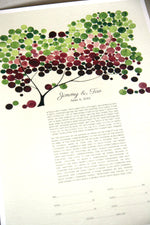 Load image into Gallery viewer, Ketubah art print - JAPANESE BIGLEAF MAGNOLIA