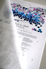 Load image into Gallery viewer, Modern Wedding Ketubah Winter