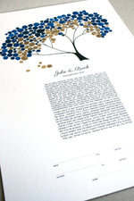 Load image into Gallery viewer, Modern Ketubah Safari Tree of Life