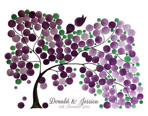 Wedding Guest Book Alternative SILKY WILLOW TREE