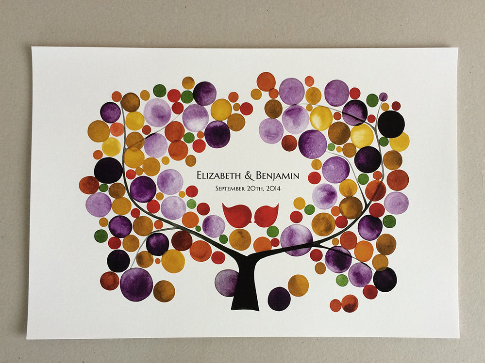 Wedding Guest Book Gift MUME APRICOT TREE