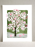 Load image into Gallery viewer, SAKURA MATSURI GREEN art print