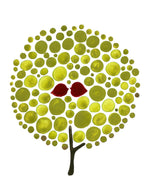 Load image into Gallery viewer, GREEN BALLOON TREE art print