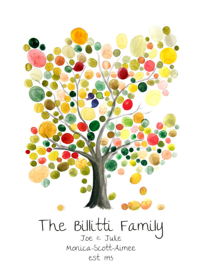 FAMILY TREE Custom print, wall art wall decor, room decor, art ...