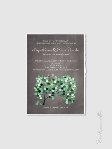 Wedding Invitation Card Design - DIY Printable Custom Wedding Invitations