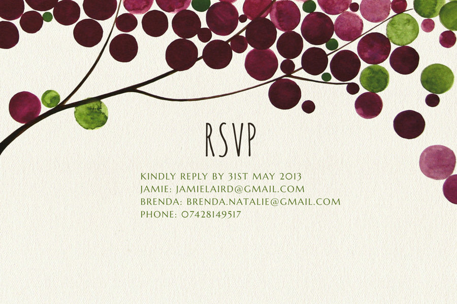 Rsvp by phone