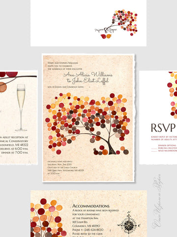 DIY Printable Wedding Invitation Design Package - Reception Card, Envelope, Direction Card, Save the Date, Wedding Invitations, RSVP