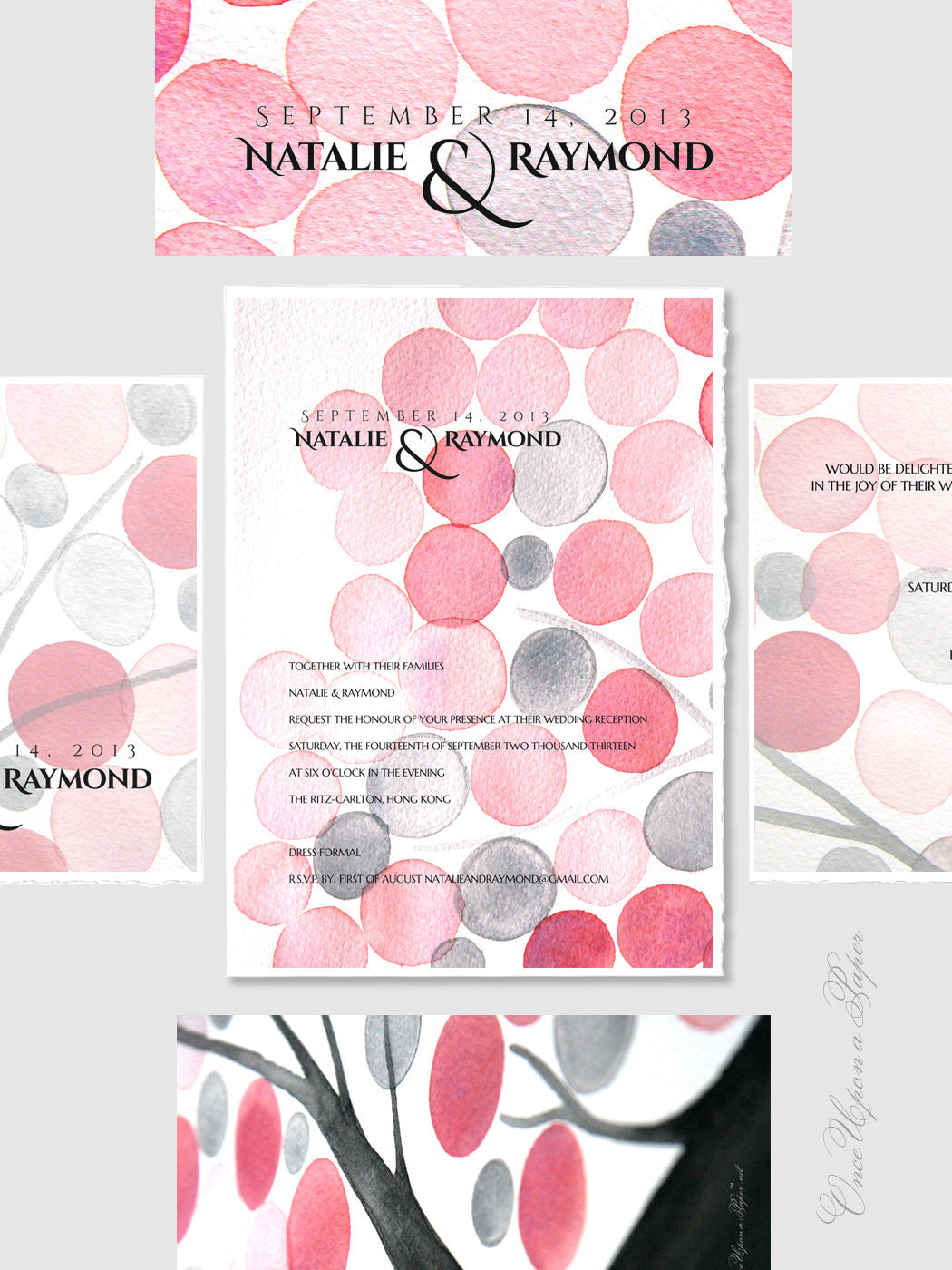 DIY Printable Wedding Invitation Design Package - Chinese red packet, Envelope, Save the Date, Wedding Invitations, RSVP