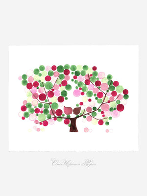 APPLE TREE BLOOM art print