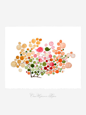 JELLY BEANS TREE art print