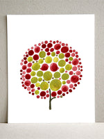 Load image into Gallery viewer, RED BALLOON TREE art print
