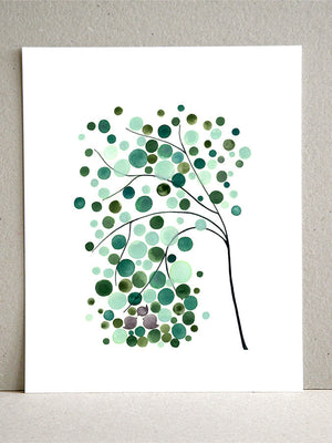 WEST FAMILY TREE art print