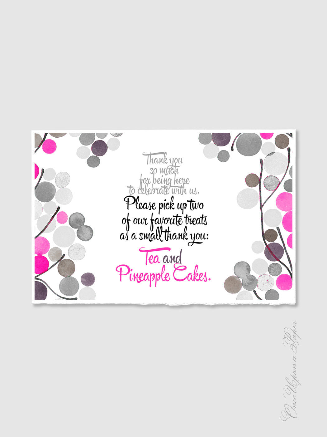 Wedding Invitation Signage Design - DIY Printable Custom Wedding Favour Sign