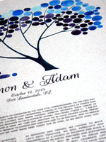 Load image into Gallery viewer, Modern Ketubah print - Tree Shade Nap