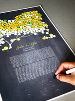 Load image into Gallery viewer, Modern Ketubah Yellow Blush