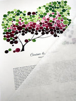 Load image into Gallery viewer, Modern Ketubah Tree of Life and Love Birds