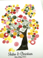 Load image into Gallery viewer, Wedding Guest Book Tree - VELVET ASH TREE