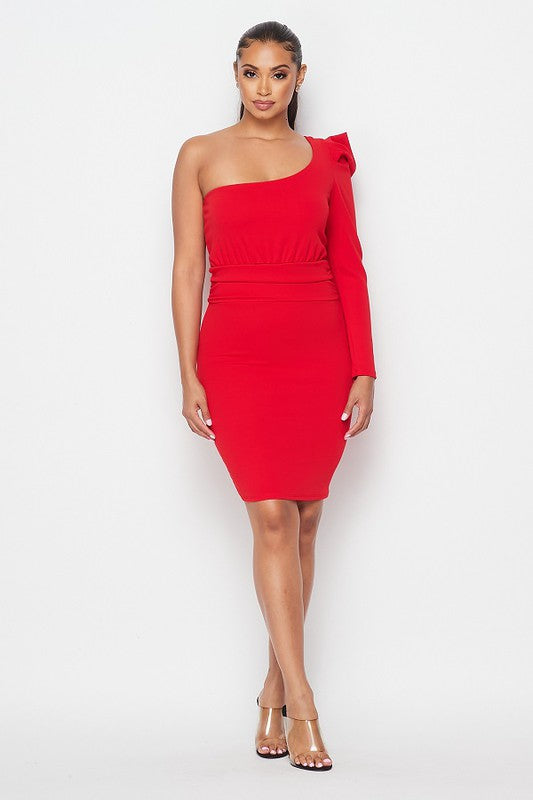 Red to Impress Cocktail Dress