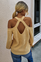 Load image into Gallery viewer, Loose Knit Cut-out Sweater