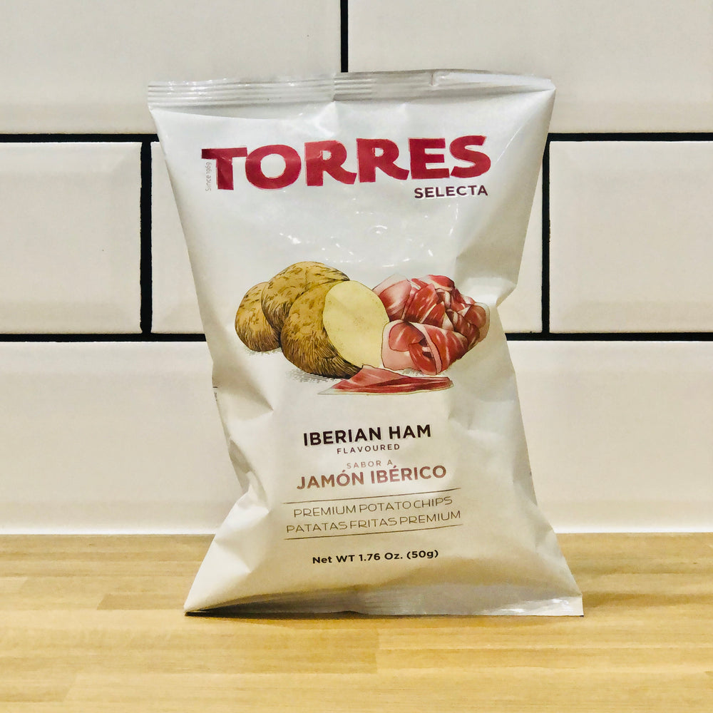 Torres - Iberian Ham Flavoured Premium Potato Chips