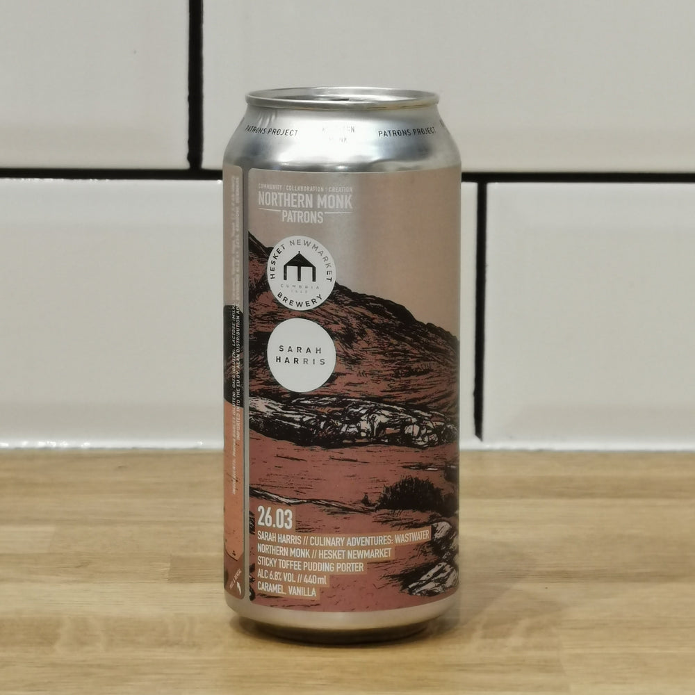 Northern Monk X Hesket Newmarket Brewery - Culinary Adventures: Wastwater Patrons Project