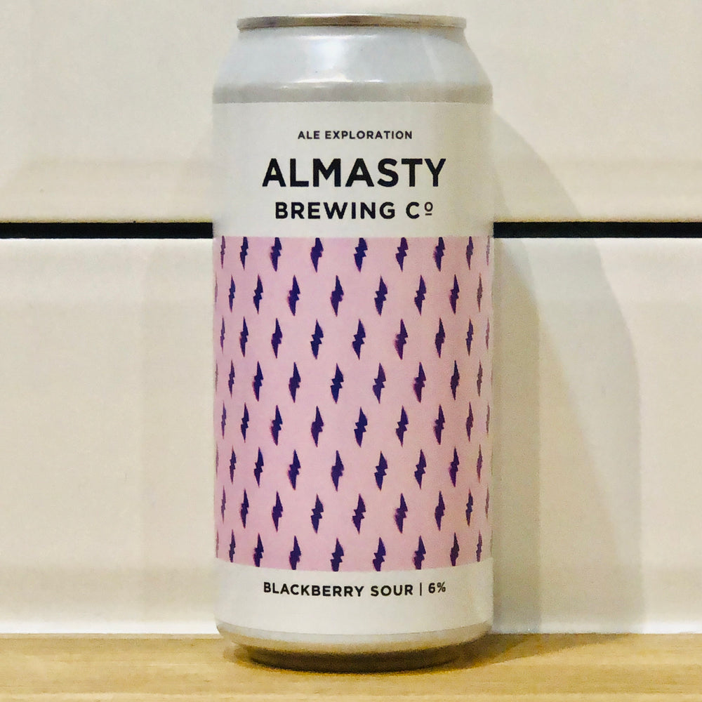 Almasty Brewing Co - Blackberry Sour