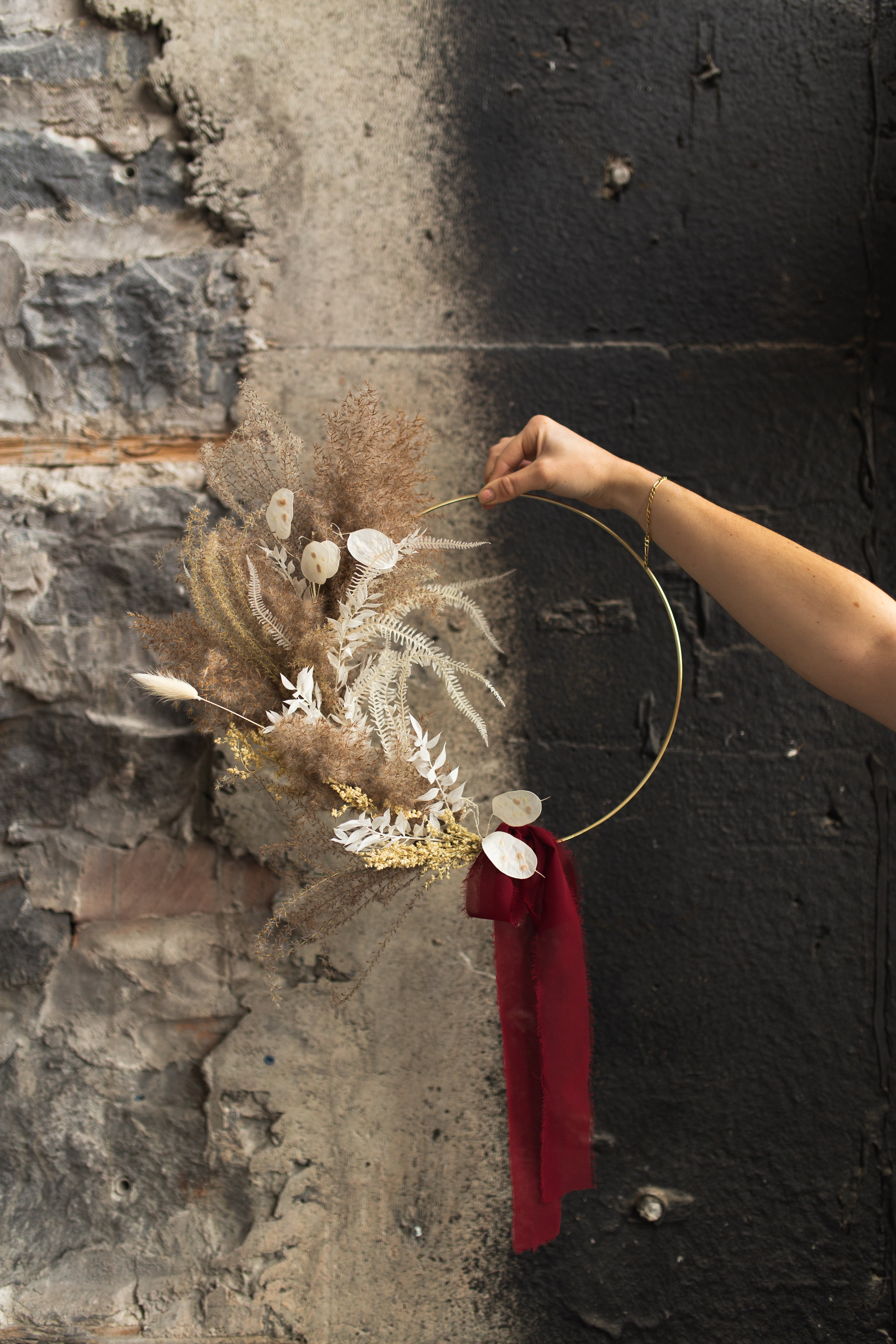 Large Dried Wreath