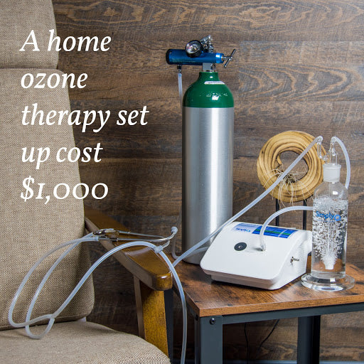 a home ozone therapy set up costs $1,000