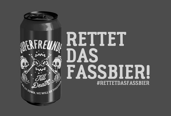 Pre-Order: 3er Set 'Old School Ale Till Death' (3 x 0,44l)