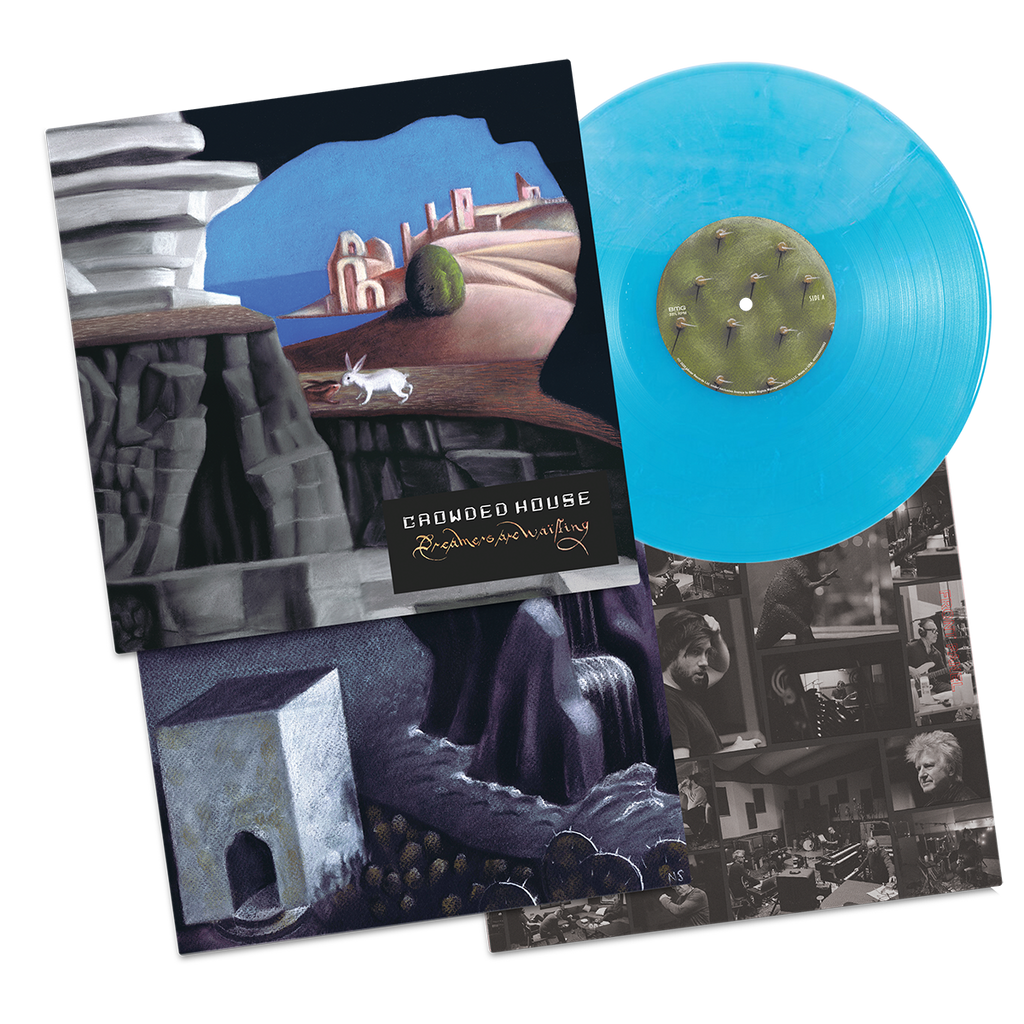 PRE-ORDER: Crowded House - Dreamers Are Waiting Vinyl (Cheerleader Blue)